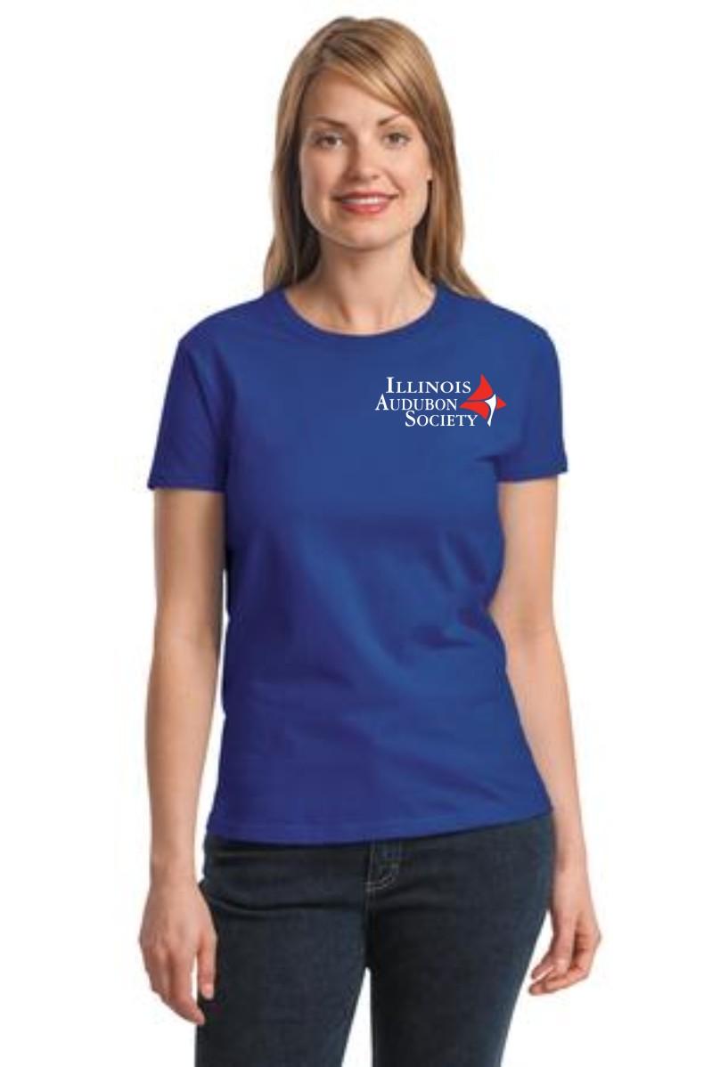 Illinois Audubon Society Ladies 4X Cotton T-Shirt ...